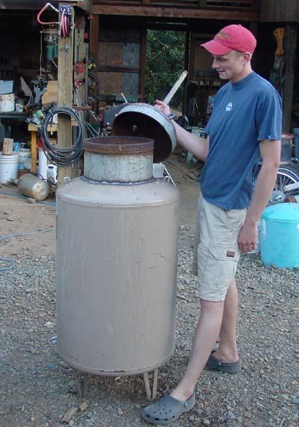 Updraft Gasifier Plans Out Our Updraft Gasifier